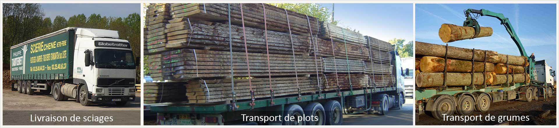 Transport bois ~ Transport Grumes Bois